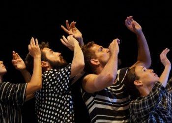 """""""Formas"""", de Danza Teatro Retazos, con coreografía de Miguel Azcue. Foto: Yoan Ramos / Perfil de Facebook de Danza Teatro Retazos."""