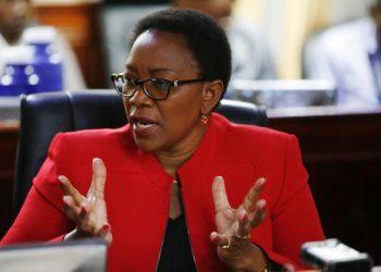 Sicily Kariuki, ministra de Salud de Kenia. Foto: pulselive.co.ke