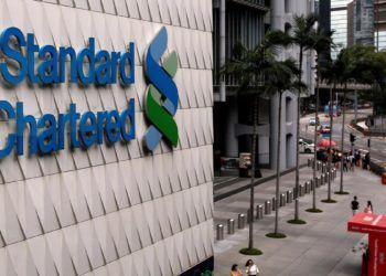 Standard Chartered. Foto: Bobby Yip / Reuters / The National.