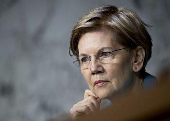 La senadora y candidata presidencial estadounidense Elizabeth Warren. Foto: Andrew Harrer/Bloomberg.