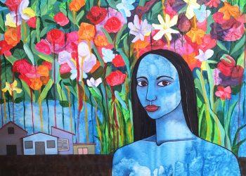 Flores de verano. Obra: Alicia Leal.