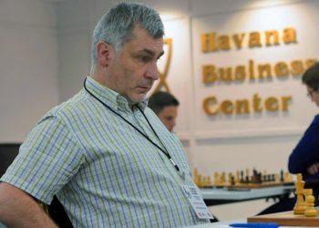 Ivanchuck lidera junto a Sam Sevian el Capablanca de ajedrez en La Habana. Foto: Tomada de Chessbase