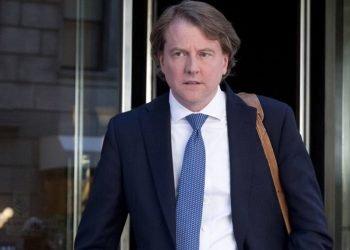 El ex abogado de la Casa Blanca, Donald McGhan. Foto: AP.