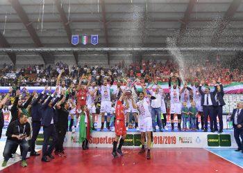 Civitanova se coronó campeón del voleibol italiano con una espectacular remontada frente al Perugia.  Foto: Michele Benda