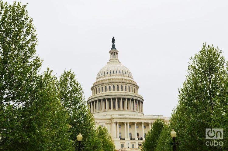 El Capitolio es la sede de ambas cámaras del Congreso de los Estados Unidos. Foto: Marita Pérez Díaz.