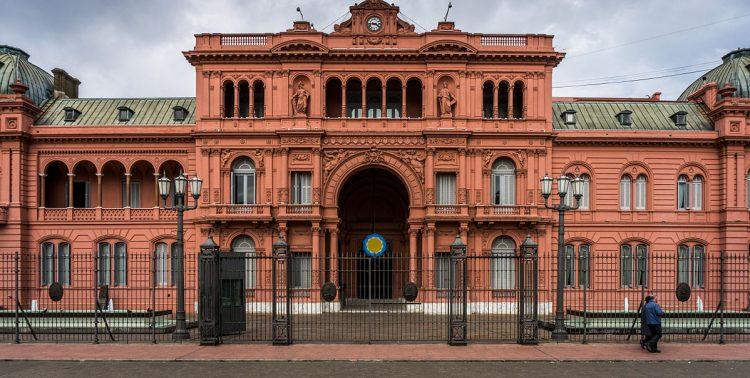 La Casa Rosada en Buenos Aires. Foto: Wikipedia.org.