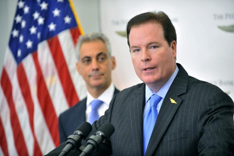 Stephen Clark, alto ejecutivo bancario acusado por los federales. Foto: Al Podgorski/AP.