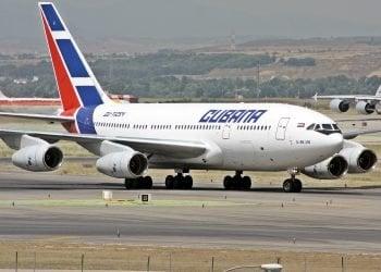 Cubana de Aviación.