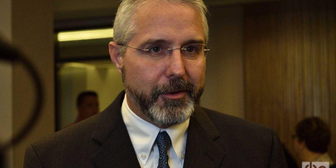 Ramón Jiménez, director de operaciones de American Airlines en Cuba. Foto: Otmaro Rodríguez.