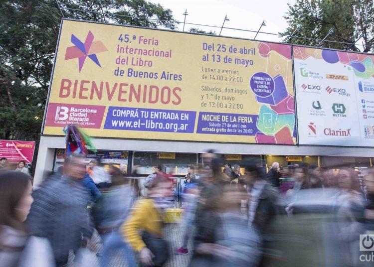 La presente edición de la Feria Internacional del Libro en Buenos Aires tiene a Barcelona como ciudad invitada, distinción que el año próximo corresponderá a La Habana. Foto: Kaloian