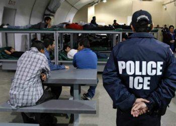 Centro de detención de inmigrantes en EE.UU. Foto: AP / Archivo.