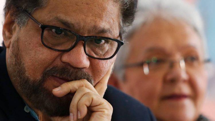 Iván Márquez, ex comandante y negociador de la paz de las FARC. Foto: Fernando Vergara/AP.