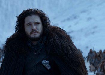 Harington como Jon Snow.