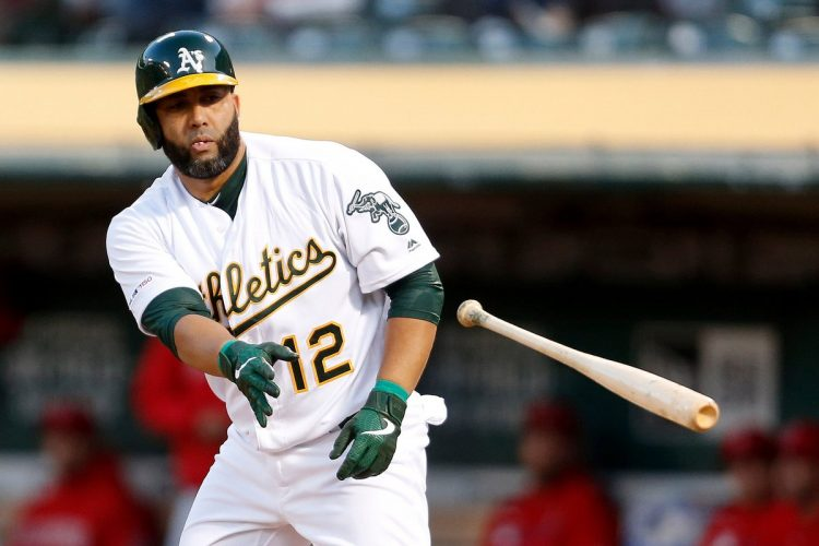 Kendrys se despide de Oakland. Foto: Tomada de MLB Trade Rumors