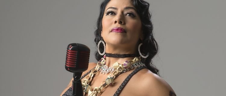 Cantante mexicana Lila Downs. Foto: Guitarbcn