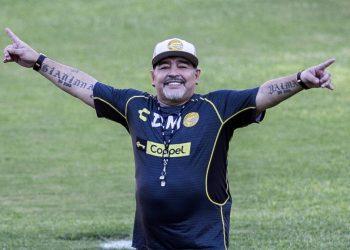Diego Armando Maradona: Foto: AS.