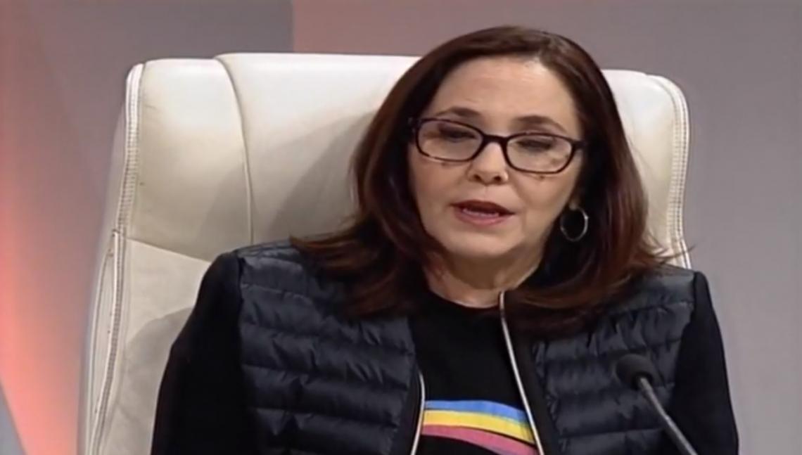 Mariela Castro durante la Mesa Redonda de este 13 de mayo de 2019. Foto: Screen Shot.