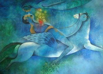 Mural del artista cubano Vicente Bonachea.