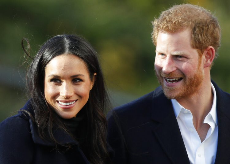 El príncipe Enrique y Meghan Markle. Foto: Frank Augstein/AP.