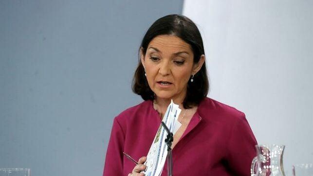 Ministra de Turismo de España, María Reyes Maroto. foto: eldiario.es