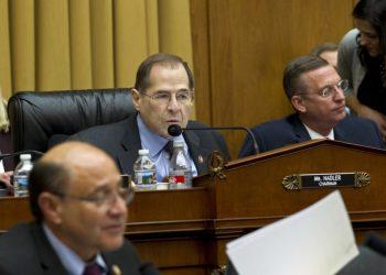 El presidente del Comité Judicial de la Cámara de Representantes, Jerrold Nadler. Foto: AP.