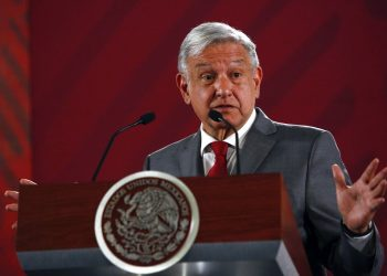 El presidente mexicano Andrés Manuel López Obrador. Foto: AP/Ginnette Riquelme/Archivo.
