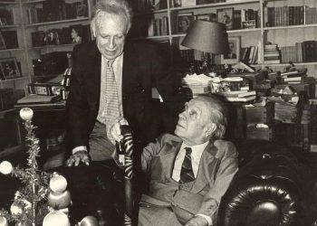 Bioy Casares y Borges. Foto: Héctor Atilio Carballo.