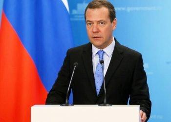 El primer ministro de Rusia Dmitri Medvédev. Foto: independent.co.uk