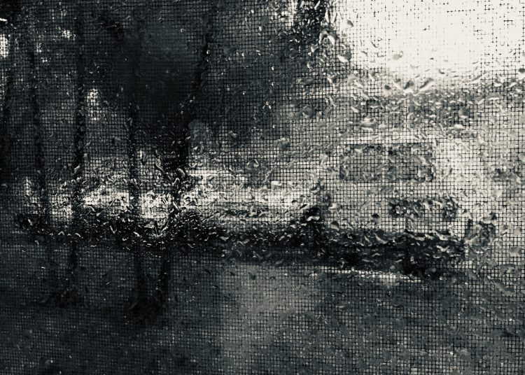 La lluvia de Miami es implacable. Y no para de llover. Foto: RF