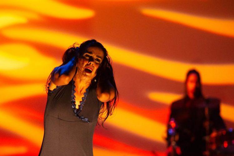 La bailarina y coreógrafa cubana Irene Rodríguez en el Jacob´s Pillow Dance Festival, en Estados Unidos. Foto: Christopher Jones / Facebook.