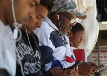 Albergue para migrantes El Buen Pastor de Ciudad Juárez, estado de Chihuahua (México), el 4 de junio de 2019. Foto: David Peinado / EFE.