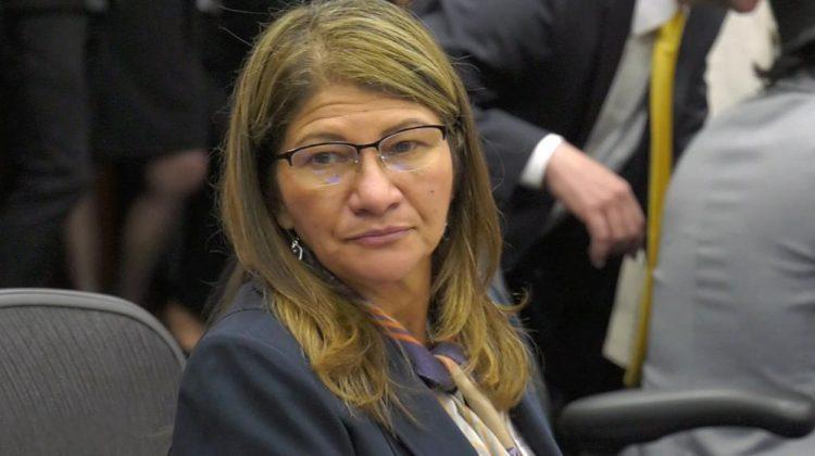 Sandra Ramírez, ex guerrillera y senadora colombiana. Foto: Noticias Uno.