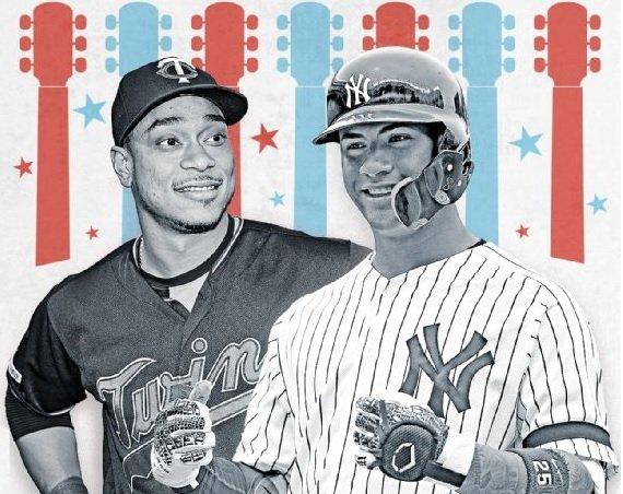 De cara a los Juegos de Estrellas, los latinos son más valorados por los fanáticos de Estados Unidos que por los de Japón. Ilustración tomada de ESPN.