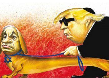 El cartoon de Antonio que desató la ira de Donald Trump. Imagen: Expresso