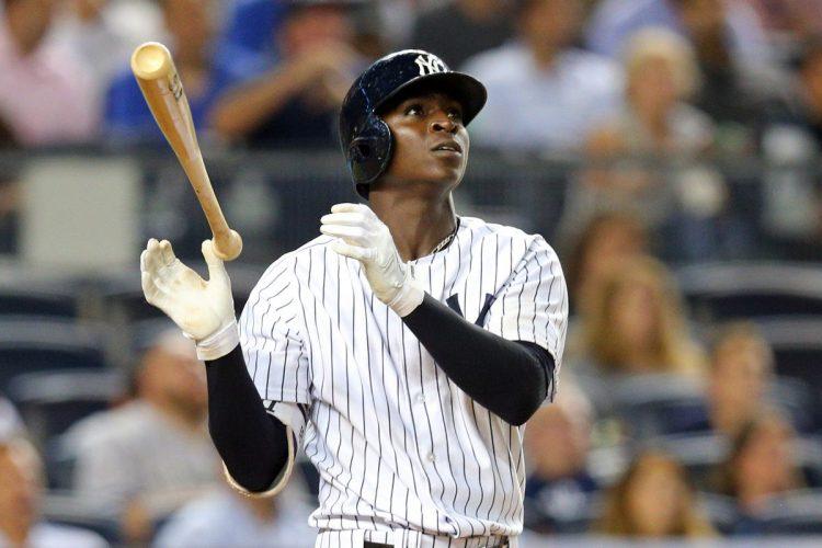 Didi Gregorius extendió a 29 la cadena de juegos consecutivos con jonrón de los Yankees. Foto: Brad Penner/USA TODAY Sports