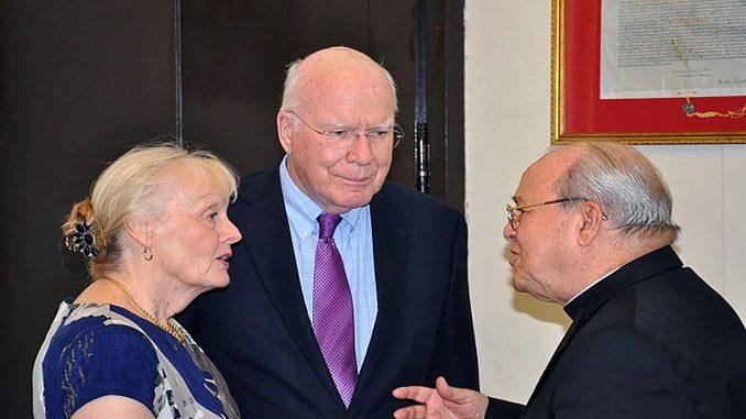 Cardenal Ortega y Patrick Leahy