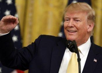 El presidente Donald Trump habla en la Casa Blanca, en Washington. Foto: Evan Vucci / AP / Archivo.