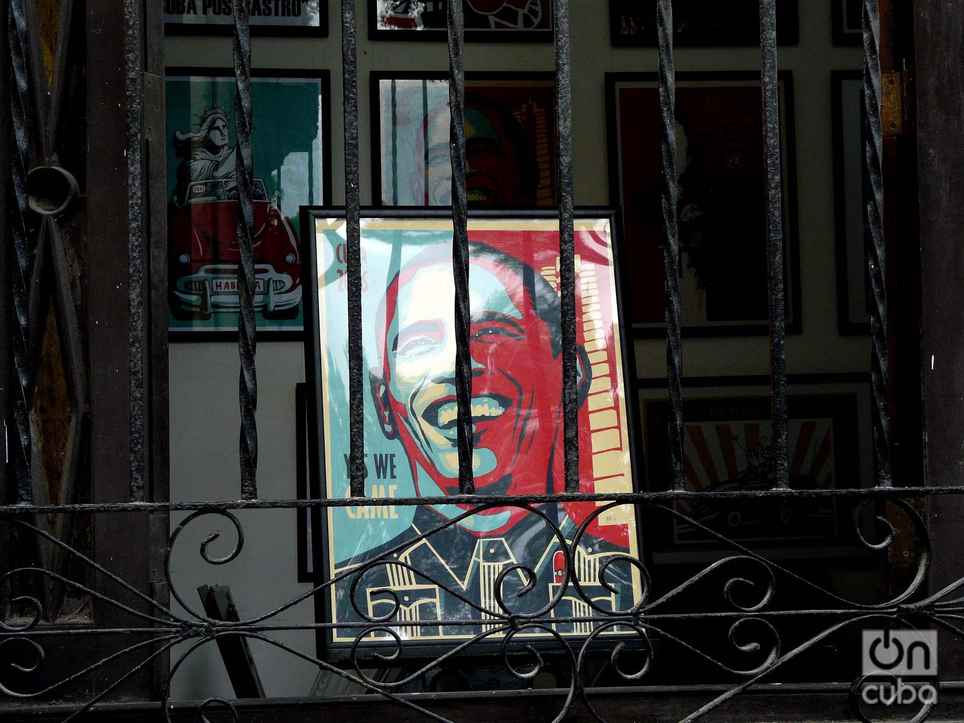 Obama en el taller de Ares. Foto: Ángel Marqués Dolz.
