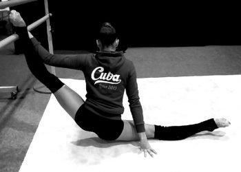 Gretel Mendoza en un entrenamiento en Lima. Foto: Tomada de su perfil de Facebook.