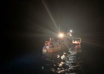 Foto de archivo de migrantes cubanos interceptados en el mar por la Guardia Costera de EE.UU. Foto: Erik Villa Rodriguez / Guardia Costera de EE.UU. / Archivo.