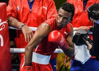El tres veces monarca mundial y bronce olímpico Lázaro Álvarez. Foto: Marcelino Vázquez / ACN / Archivo.