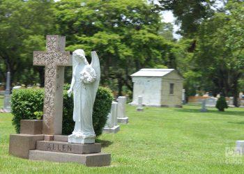 Cementerio Woodlawn. Calle 8, SW. La Pequeña Habana. Miami. Foto: Milena Recio.