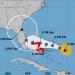 Proyección del cono de impacto de Dorian del Centro Nacional de Huracanes a las 5pm del viernes. Imagen: NHC/NOAA.