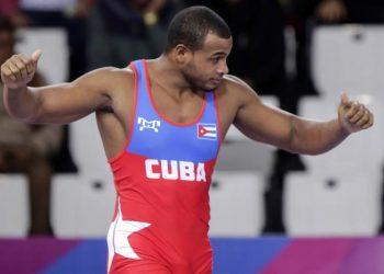 El luchador cubano Gabriel Rosillo, de los 97 Kg de la lucha grecorromana. Foto: Radio Rebelde / Archivo.