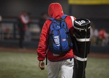 Dadas las condiciones actuales del béisbol cubano y la sequía de victorias de los últimos años, clasificar a Tokio es una utopía. Foto: Irene Pérez/Cubadebate