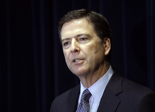 El ex director del FBI, James Comey. Foto: Don Ryan/AP.
