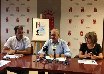 Conferencia durante las Jornadas Colombinas de 2018 en La Gomera, Islas Canarias. Foto: lagomera.es / Archivo.