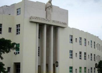 Hospital Maternidad Obrera, en Marianano, La Habana. Foto: habanartdeco.blogspot.com