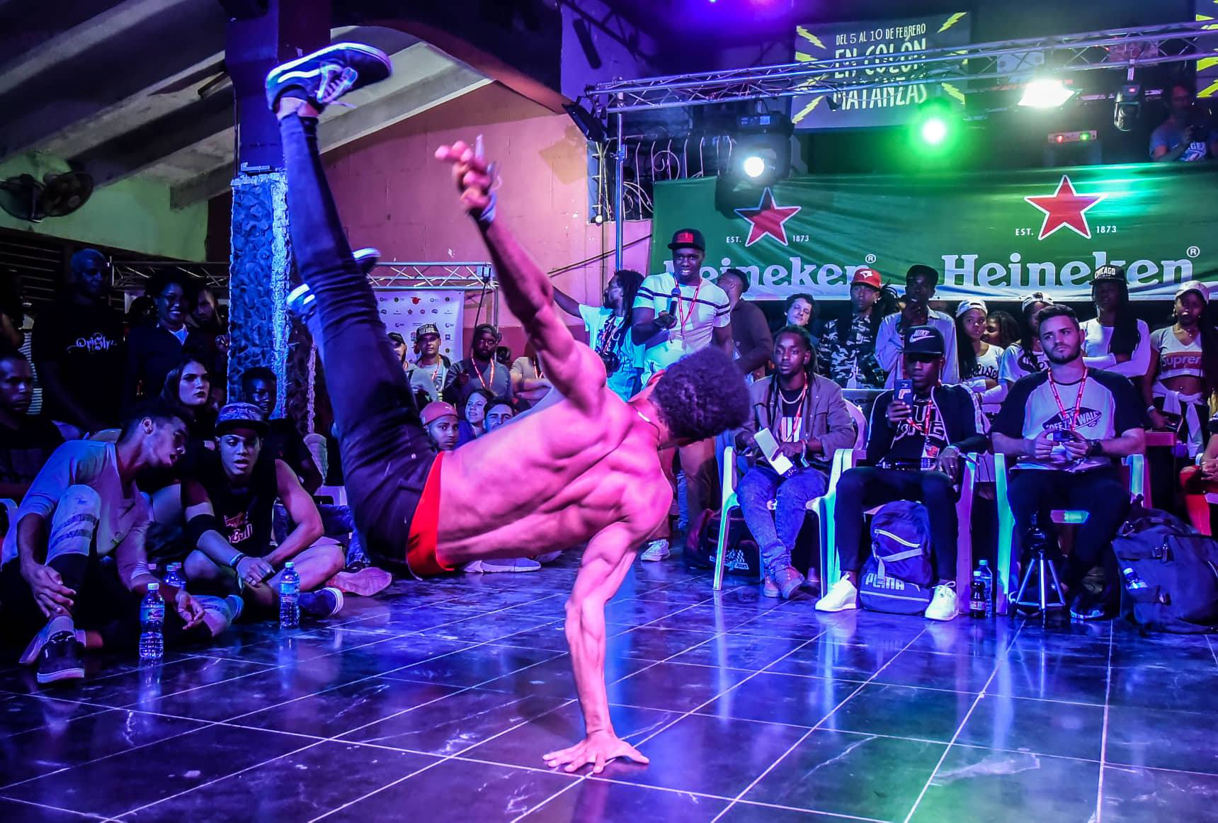 Competencia de baile en la 7ma edición del Festival Potaje Urbano. Foto: MSK.