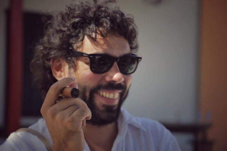 El cineasta cubano Carlos Lechuga. Foto: Yoanna Montero.